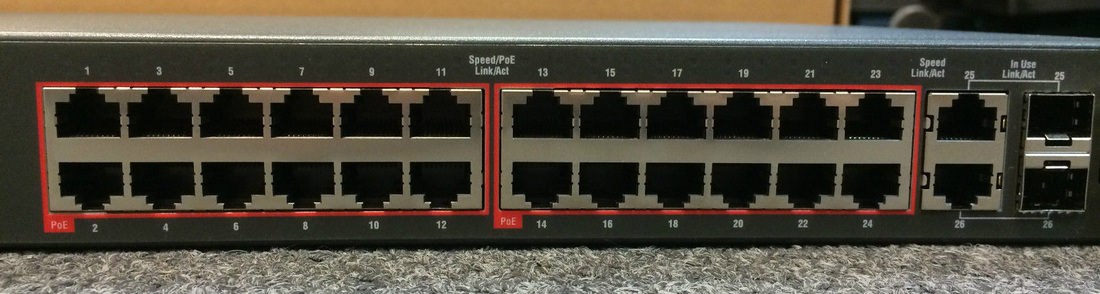 Avaya Nortel Al4500e13 E6 4526t Pwr 24 Port Ethernet