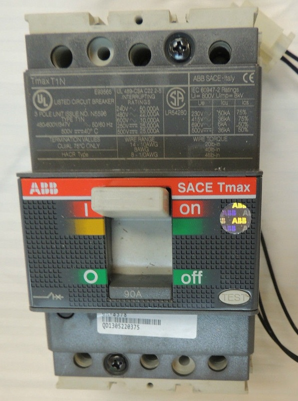 Abb 1sda053542r1 Sace Tmax T1 N 100 New In Box Intracom